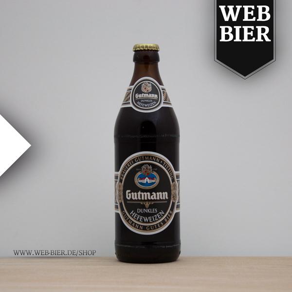 Gutmann Dunkles Hefeweizen gutes Bier aus Titting