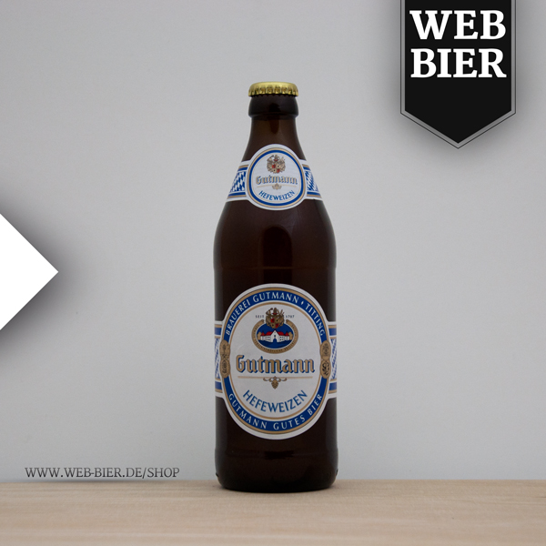 Gutmann Hefeweizen Gutmann gutes Bier