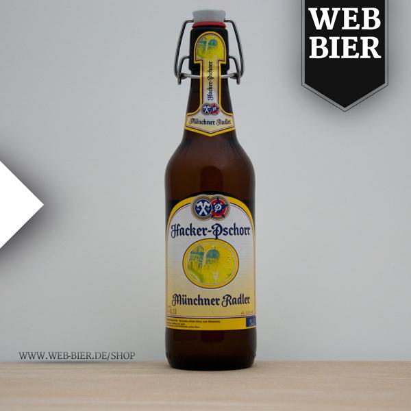 Hacker Pschorr Radler aus München