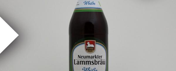 Neumarkter Lammsbräu Weiße Weizen Weißbier Hefe Weißbier aus Bayern.