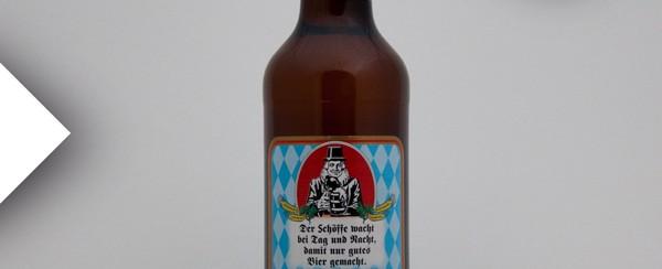 Schöffbräu Helles Vollbier aus der Brauerei in Ingolstadt