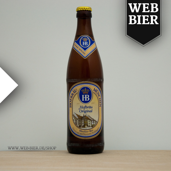 Hofbräu München Original Hell, Helles Vollbier