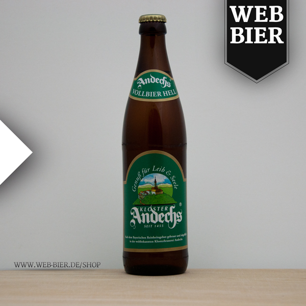 Andechser Vollbier Hell Bier Kloster Andeches