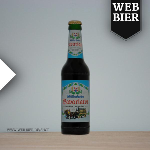 Müllerbräu Bavariator Doppelbock Bier